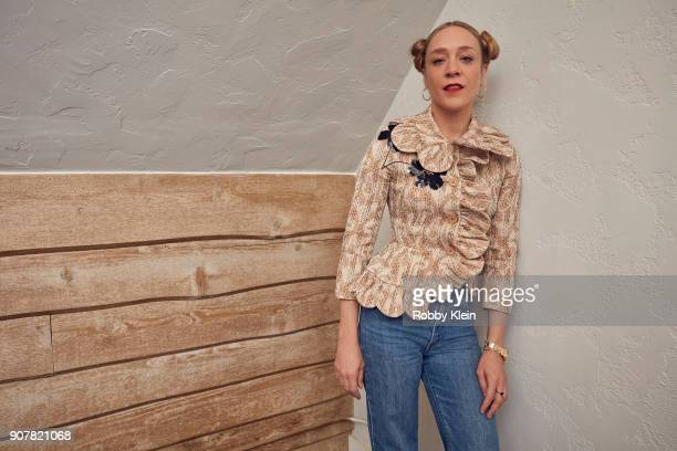 Chloe Sevigny from the film 'Lizzie' poses for a portrait at the YouTube x Getty Images Portrait Studio at 2018 Sundance Film Festival on January 19...