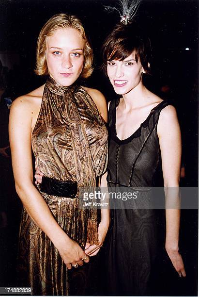 Chloe Sevigny Hilary Swank during 2000 Independent Spirit Awards in Santa Monica California United States