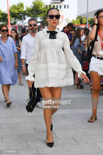 Chloe Sevigny is seen arriving at the 76th Venice Film Festival on September 01 2019 in Venice Italy
