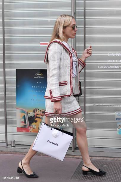 Chloe Sevigny is seen during the 71st annual Cannes Film Festival at on May 11 2018 in Cannes France