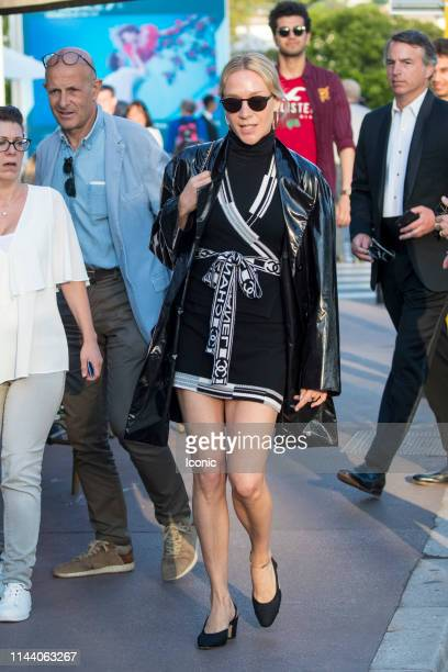 Chloe Sevigny is seen during the 72nd annual Cannes Film Festival on May 16 2019 in Cannes France