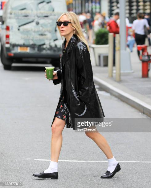 Chloe Sevigny is seen in Downtown on May 30 2019 in New York City