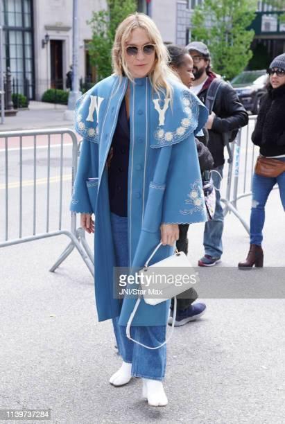 Chloe Sevigny is seen on April 27, 2019 in New York City.
