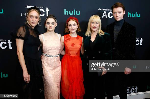 Chloe Sevigny Joey King Patricia Arquette AnnaSophia Robb and Calum Worthy attends The Act New York Premiere at The Whitby Theater on March 14 2019...