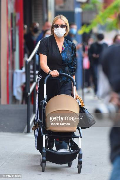 Chloe Sevigny seen out with her daughter Vanja in SoHo on September 25 2020 in New York City