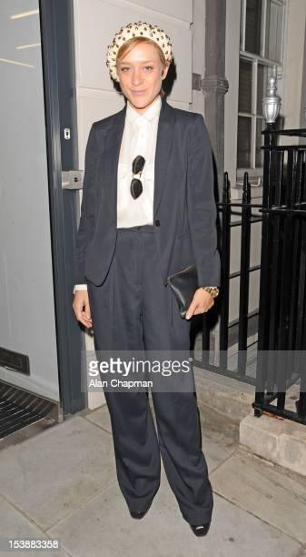 Chloe Sevigny sighting in Covent Garden on October 10 2012 in London England