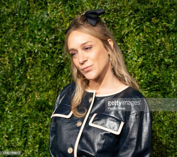 Chloe Sevigny wearing Chanel attends the Chanel 14th Annual Tribeca Film Festival Artists Dinner at Balthazar.
