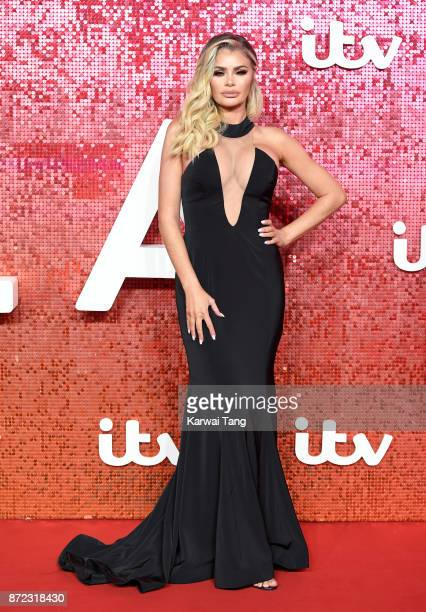 Chloe Simms attends the ITV Gala at the London Palladium on November 9 2017 in London England