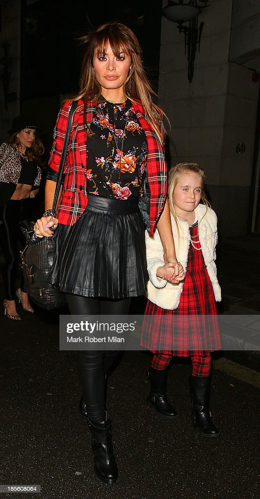Chloe Sims attending the Claire's Accessories party on October 22, 2013 in London, England.