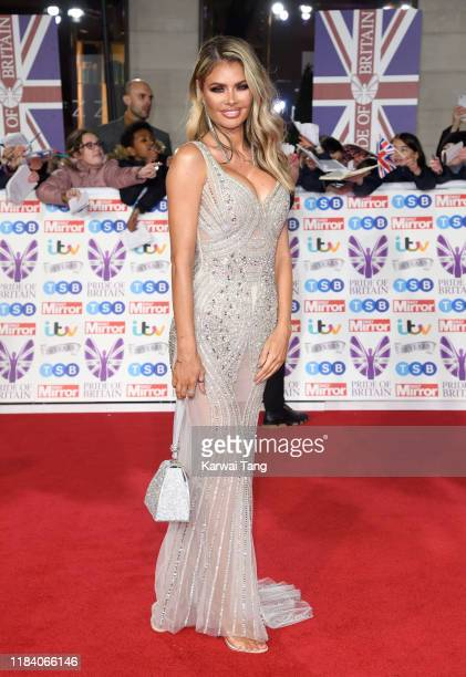 Chloe Sims attends the Pride Of Britain Awards 2019 at The Grosvenor House Hotel on October 28 2019 in London England