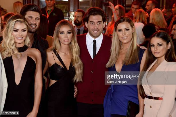 Chloe Sims Dan Edgar Lauren Pope James Argent Chloe Meadows and Courtney Green attend the ITV Gala held at the London Palladium on November 9 2017 in...