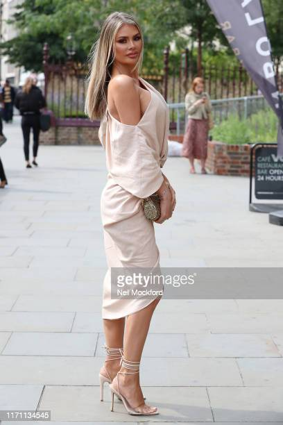 Chloe Sims seen arriving for The Only Way Is Essex Series 25 summer party at Jin Bo Law on August 30 2019 in London England
