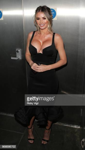 Chloe Sims seen attending NHS Heroes Awards at London Hilton Park Lane on May 14, 2018 in London, England.