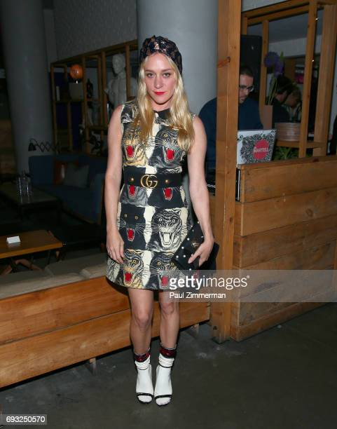 """Chloe Sivigny attends the Gucci & The Cinema Society after party of Roadside Attractions' """"Beatriz At Dinner"""" at Mr. Purple on June 6, 2017 in New..."""