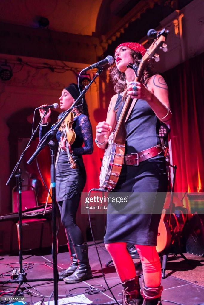 Rising Appalachia Perform At Bush Hall, London