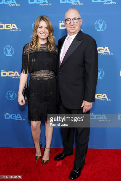 Chloe Sonnenfeld and Barry Sonnenfeld arrive for the 72nd Annual Directors Guild Of America Awards at The Ritz Carlton on January 25 2020 in Los...