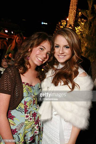 Chloe Sonnenfeld and Joanna JoJo' Levesque during Los Angeles Premiere of Columbia Pictures' RV at Mann Village Theatre in Westwood California United...