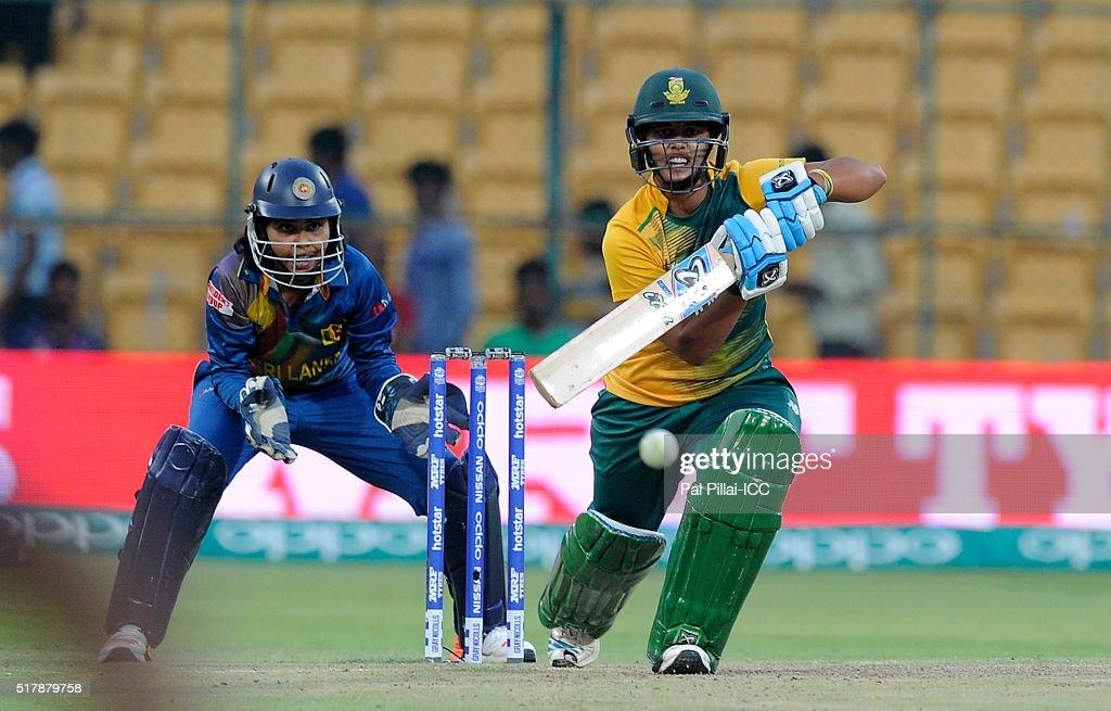 Women's ICC World Twenty20 India 2016: South Africa v Sri Lanka