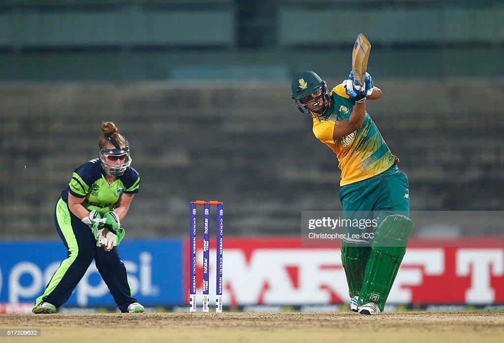 Women's ICC World Twenty20 India 2016: South Africa v Ireland