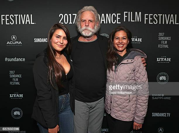 Chloe Weir musician Bob Weir and Natascha Munter attend the premiere of Amazon Studios' Long Strange Trip at the 2017 Sundance Film Festival at...