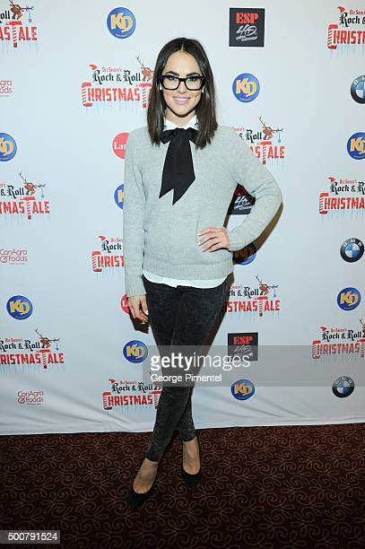 Chloe Wilde attends Dee Snider's Rock 'N' Roll Christmas Tale at Winter Garden Theatre on December 9 2015 in Toronto Canada