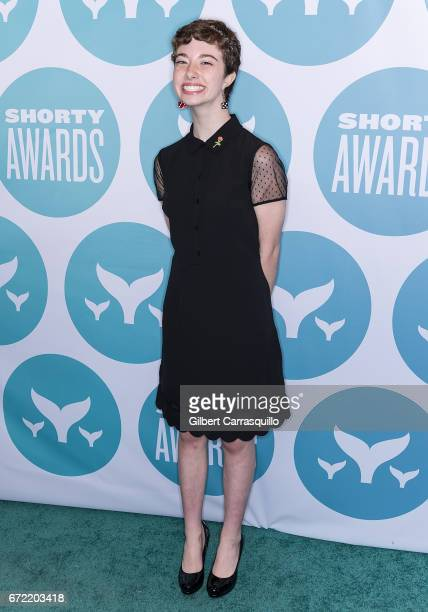 Chloe Woodard attends the 9th Annual Shorty Awards at PlayStation Theater on April 23 2017 in New York City