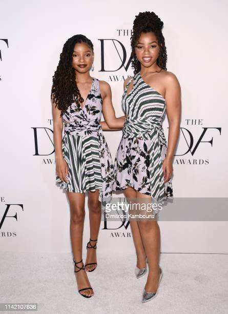Chloe X Halle attends 10th Annual DVF Awards at Brooklyn Museum on April 11 2019 in New York City