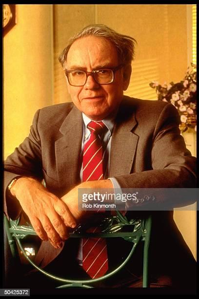 Chmn of Berkshire Hathaway Warren Buffett