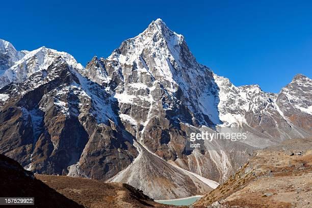 Cho La summit pass in the Mount Everest region of Nepal