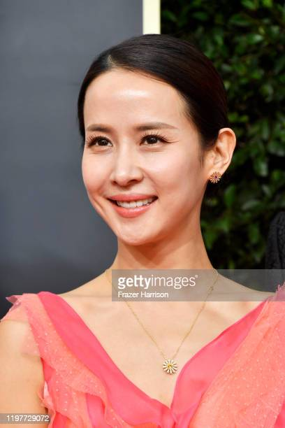 Cho Yeojeong attends the 77th Annual Golden Globe Awards at The Beverly Hilton Hotel on January 05 2020 in Beverly Hills California