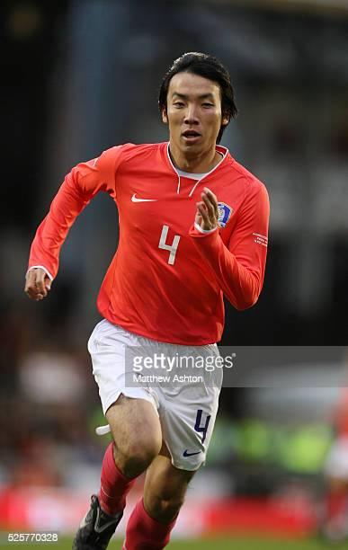 Cho Yong Hyung of Korea Republic