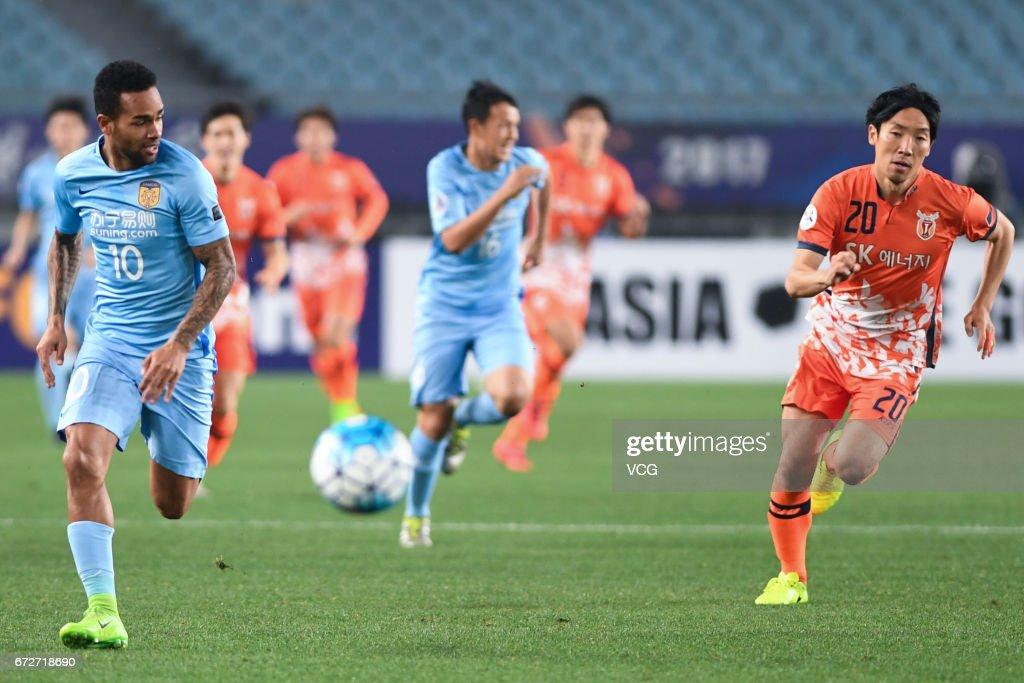 AFC Champions League - Jiangsu Suning v Jeju United