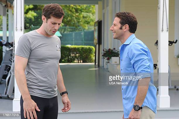 PAINS Chock Full O' Nuts Episode 507 Pictured Josh Cooke Mark Feuerstein as Dr Hank Lawson