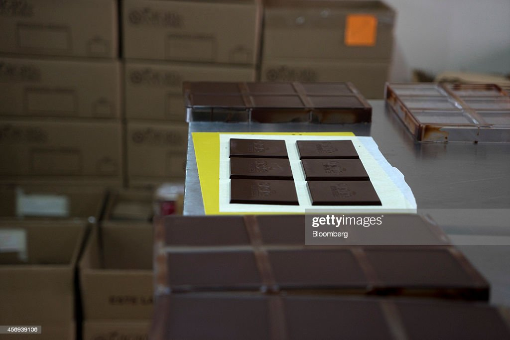 Operations At The Cacao Hunter Chocolate Factory As Colombia Aims To Increase Production : News Photo