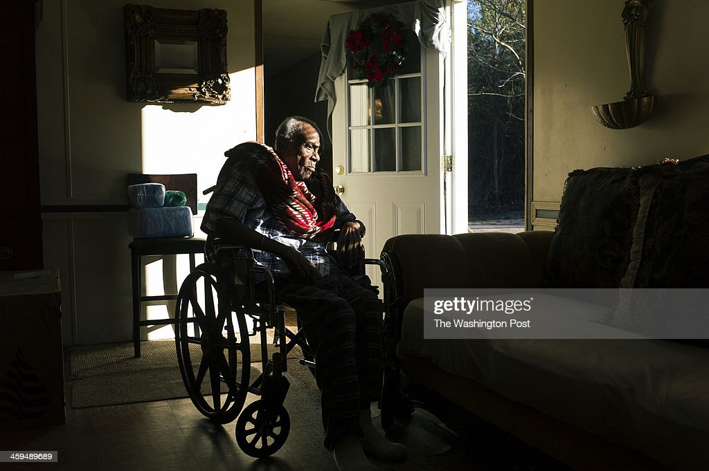 Chocolate Blount in his home. : News Photo