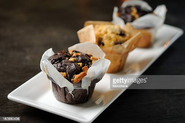 Chocolate - Blueberry Muffins