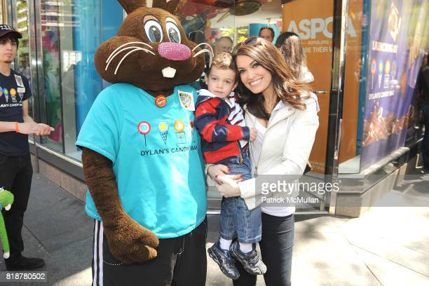 Chocolate Bunny Ronan Villency and Kimberly Guilfoyle attend DYLAN'S CANDY BAR hosts Sweet Adoptions for The ASPCA at Dylan's Candy Bar on April 24...