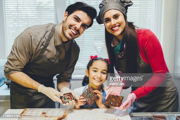 chocolate business - chocolate making stock pictures, royalty-free photos & images