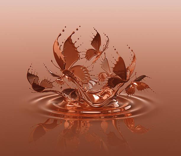Chocolate Butterflies Splash Wall Art