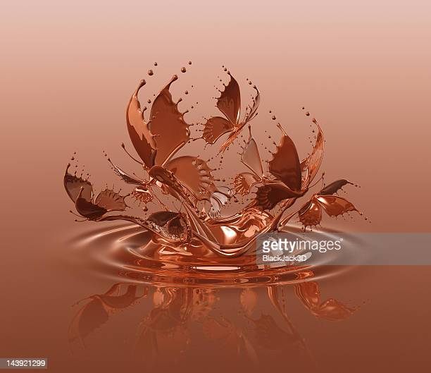 Chocolate Butterflies Splash