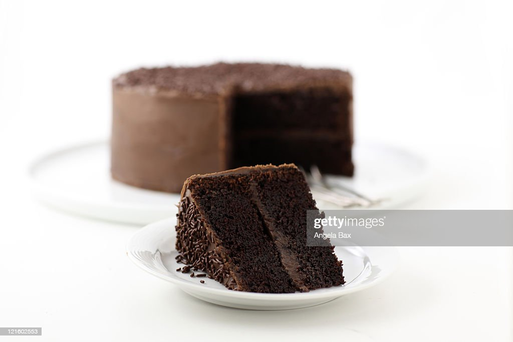 Chocolate cake : Stock Photo