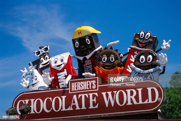 Chocolate Characters at Hershey Park