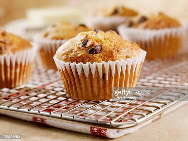 Chocolate Chip und Bannana Muffins