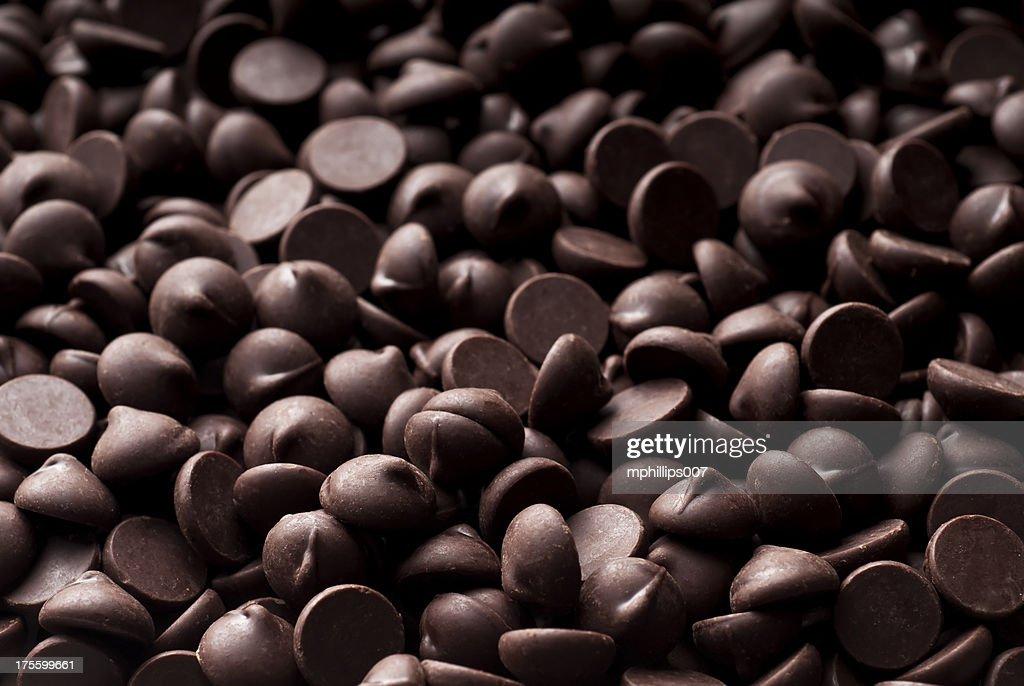 チョコレートチップ背景 : ストックフォト