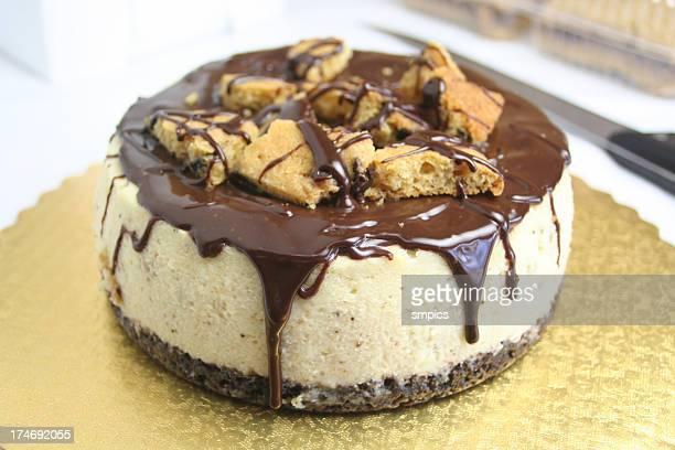 Cookie aux pépites de chocolat gâteau au fromage