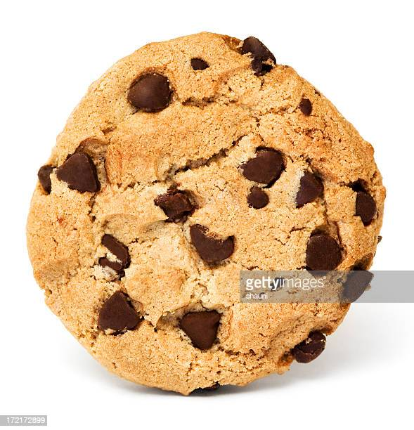 chocolate chip cookie - chocolate chip cookie stock pictures, royalty-free photos & images