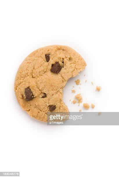 Chocolate chip-cookie mit Paniermehl