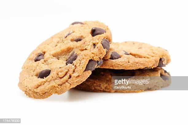Kekse mit Schokolade-chips