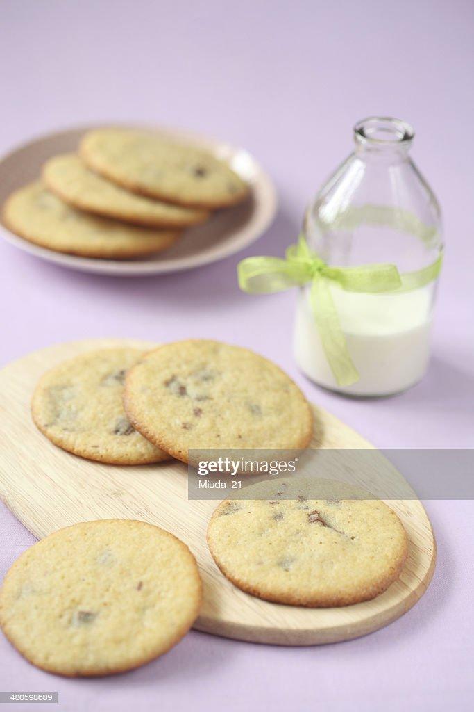 Chocolate Chip Cookies : Stock Photo