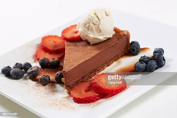 Chocolate coca powder pie